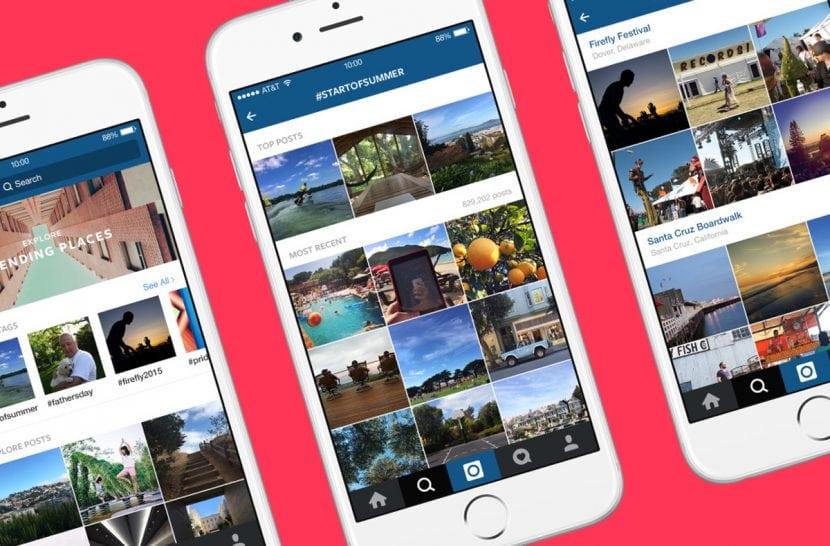 Per la homepage di Instagram il cambiamento è alle porte