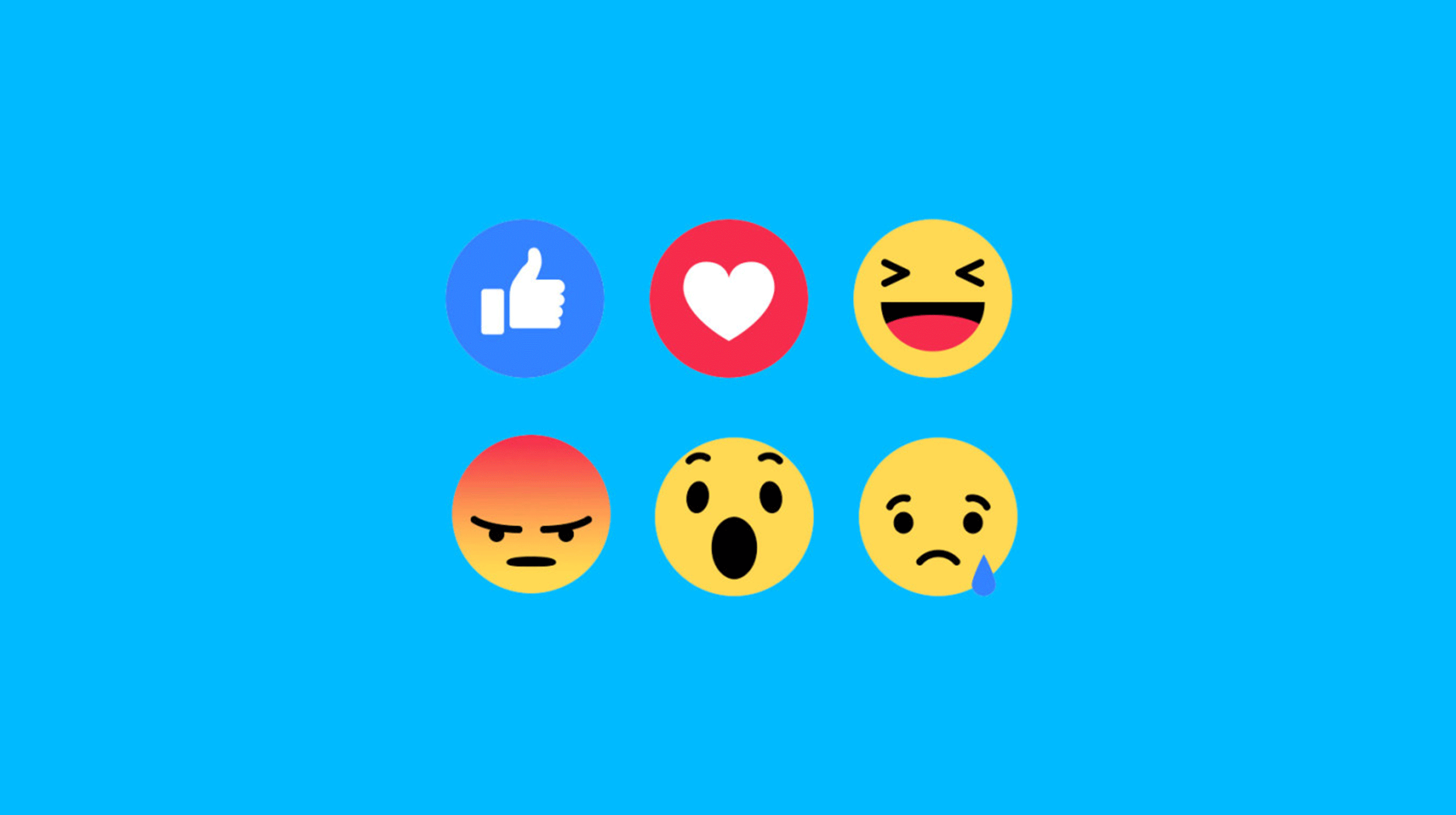 Reactions Facebook e Social Media Marketing